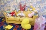 Развлечение в детской комнате