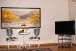 Телевизор в номере Suite Duplex